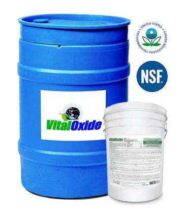 VITAL OXIDE 55 GALLON MOLD REMOVER & DISINFECTANT CLEANER
