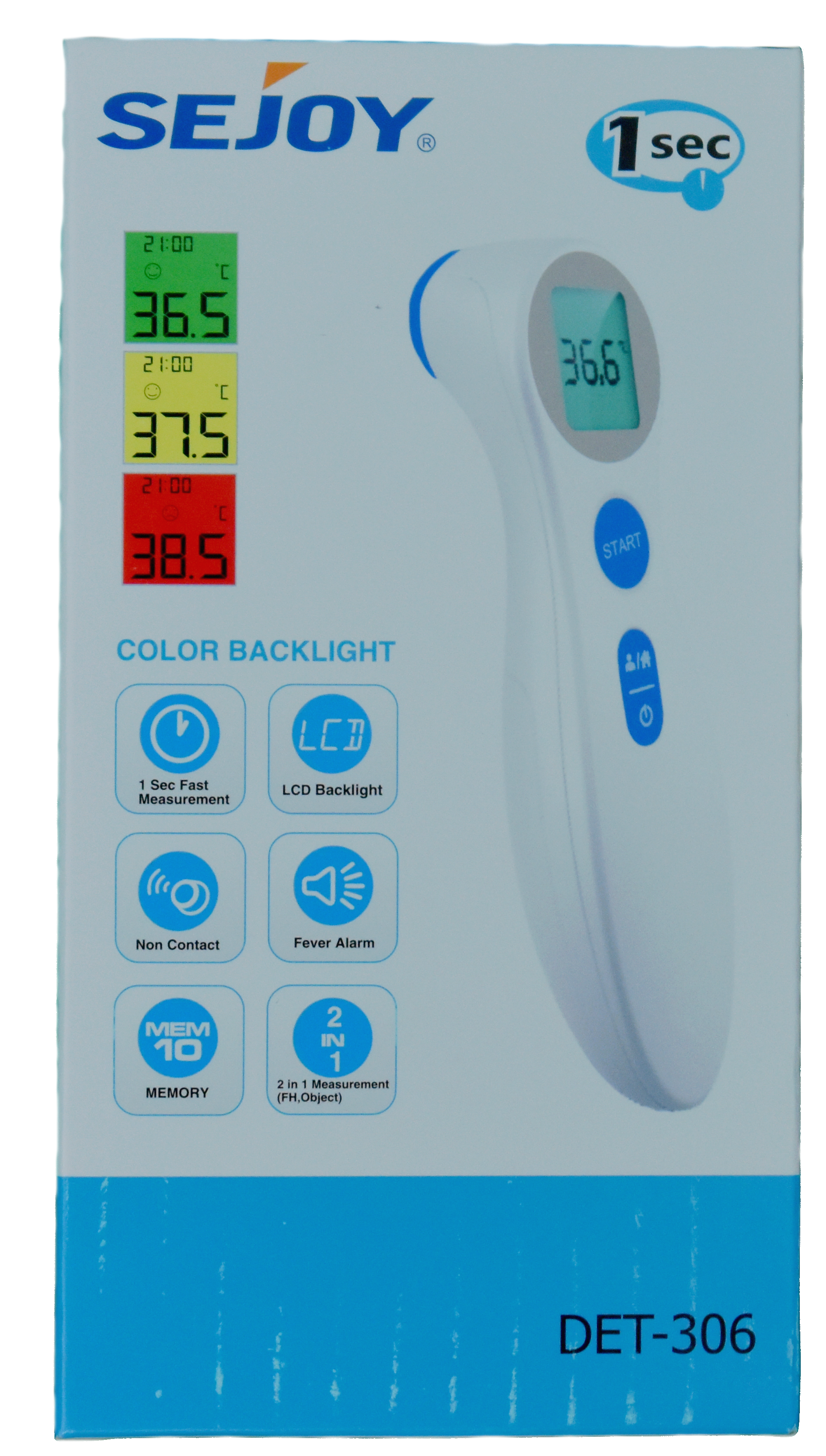 Infrared Contactless Forehead Thermometer